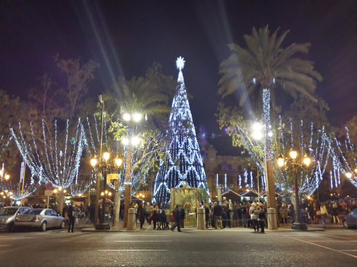 Happy holidays from Valencia!